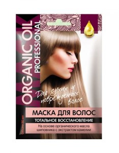 Org. maska do wł. «ORGANIC OIL Professional» regeneracja 100% FIT