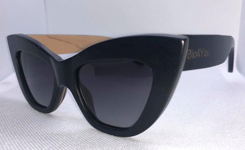 a563aed4545f73 Czarne drewniane okulary przeciwsłoneczne polaryzacyjne Drzewo ...